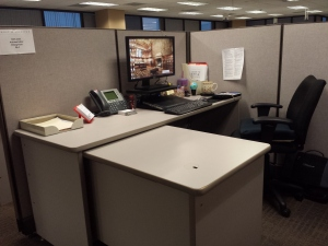 Ruthie's workstation (May 2014)