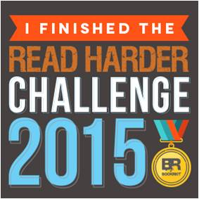 Book Riot's Read Harder Challenge 2015 I Finished